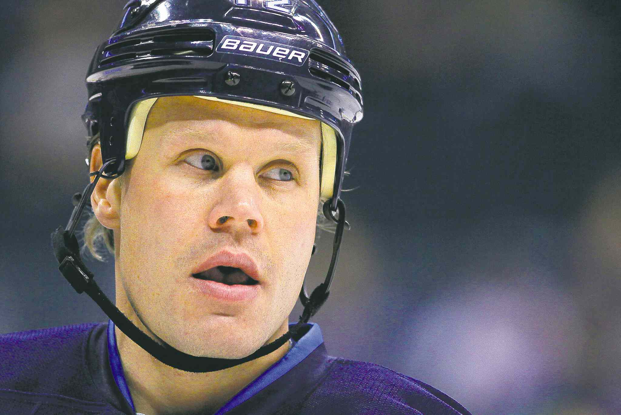 Winnipeg Jets centre Olli Jokinen, 35, will become an unrestricted free agent this summer. He's racked up 33 points in 62 games this season, but could be on the block.