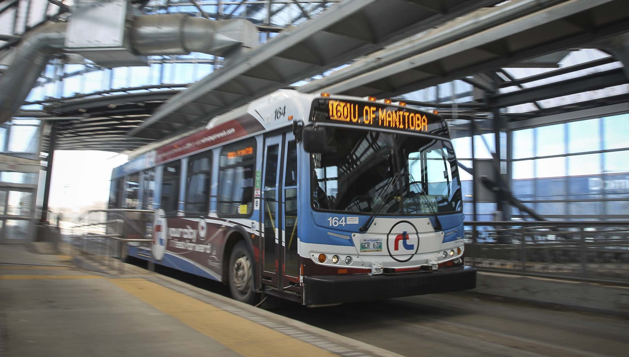 MIKE DEAL / WINNIPEG FREE PRESS files</p><p>Rapid transit has proven a great success in major cities across Canada, yet none of the major parties has touched on it during the provincial election campaign.</p>