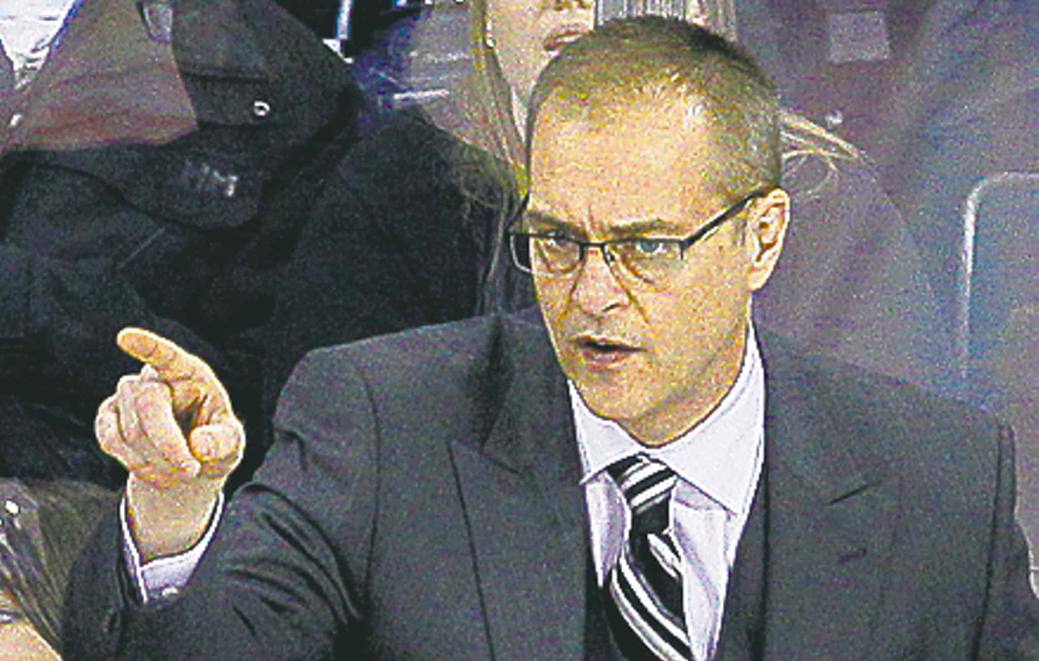 Winnipeg Jets head coach Paul Maurice.