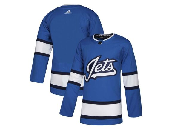This photo appeared on a hockey website Thursday claiming it was team's third jersey, scheduled to be unveiled Friday. (Icethetics.co)</p>