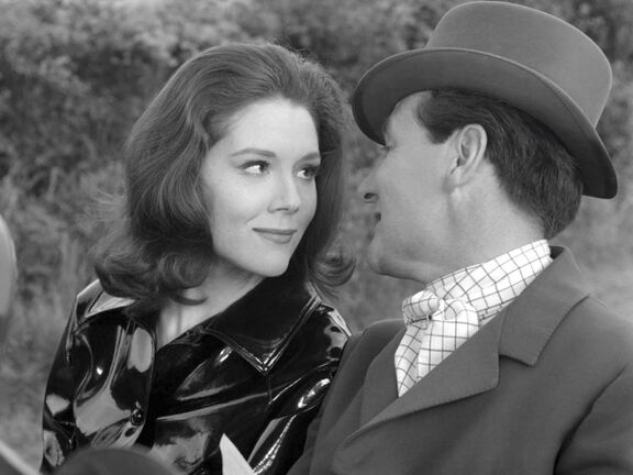Supplied</p><p>The Avengers reached its zenith with the interplay between Diana Rigg (above) and Patrick Macnee as spies Emma Peel and John Steed.</p>