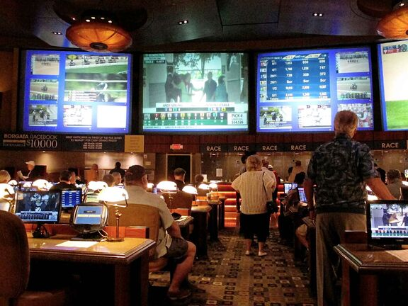 New Jersey was first out of the gate to legalize sports betting in June after the Supreme Court struck down federal prohibitions on sports gambling. (Wayne Parry / The Associated Press files)