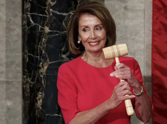 Carolyn Kaster / The Associated Press files</p><p>House Speaker Nancy Pelosi holds the gavel.</p>