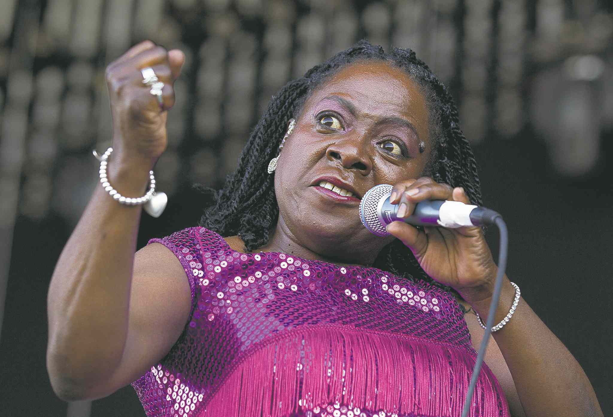 Sharon Jones was back giving the people what they want only months after finishing her final course of chemotherapy.