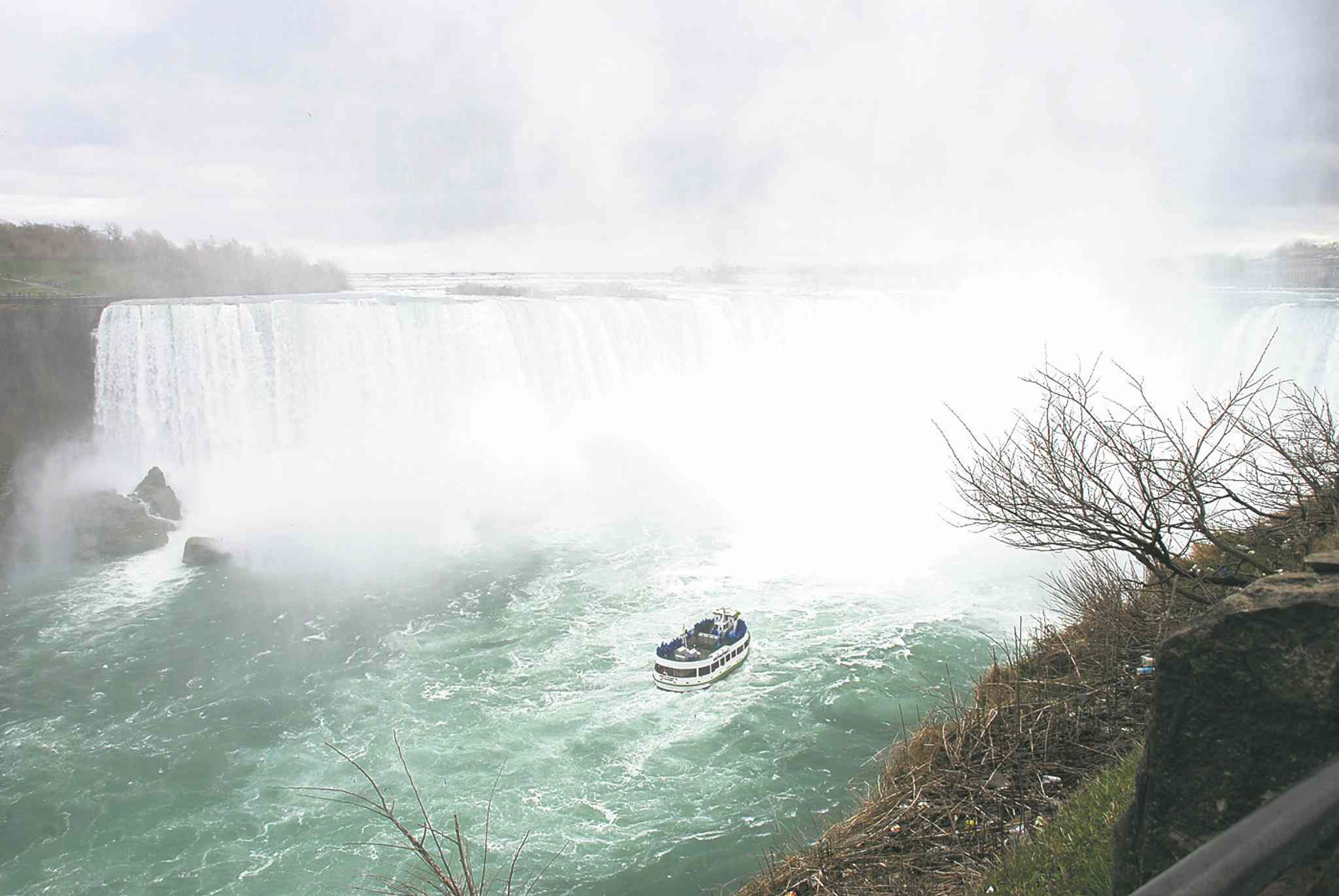 Chinese tourists visit major Canadian cities and our top natural attractions like Niagara Falls, but not in great numbers.