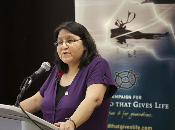 Poplar River resident Sophia Rabliauskas spearheaded the UNESCO campaign. (WAYNE GLOWACKI / WINNIPEG FREE PRESS FILES)