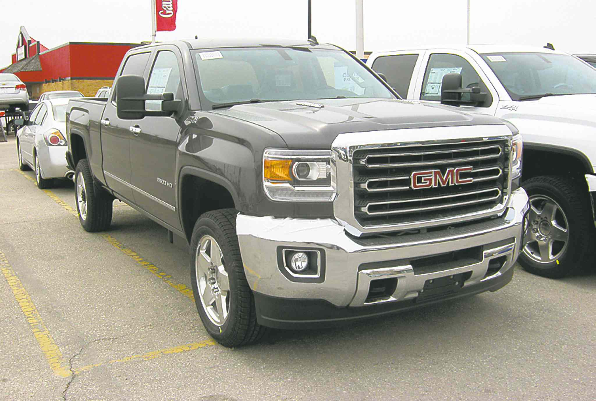 GMC's long-awaited redesigned 2015 Sierra pickups are in showrooms now.