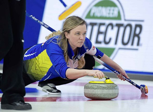 Alberta skip Chelsea Carey has inherited her father Dan's all-consuming love of curling and his stubborn will to win.