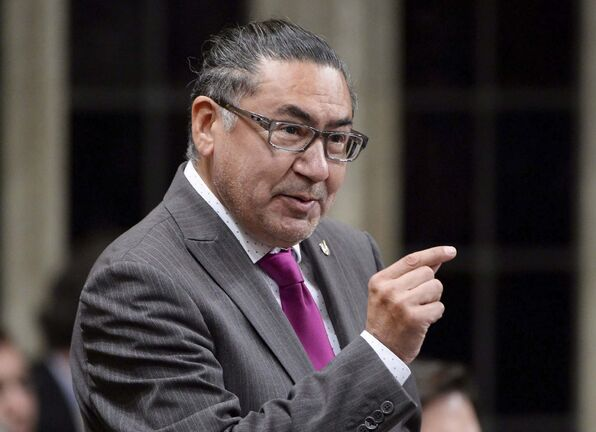 NDP MP Romeo Saganash put forth C-262 as a private member's bill. (Adrian Wyld / The Canadian Press files)