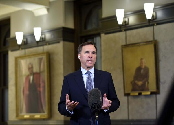 Former federal finance minister Bill Morneau (Justin Tang / The Canadian Press files)