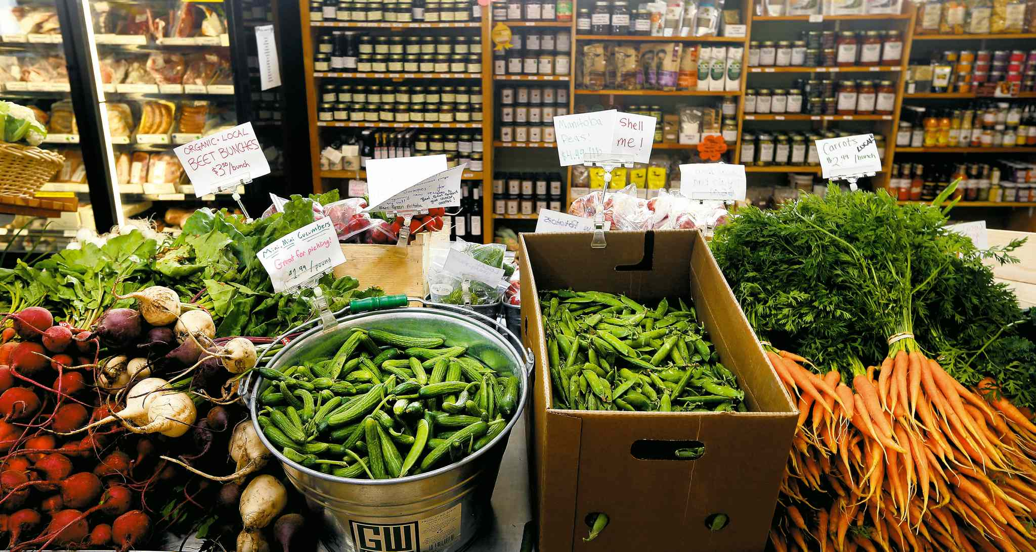 Crampton's Market has been selling local organic foods and ethically raised meat for 17 years.