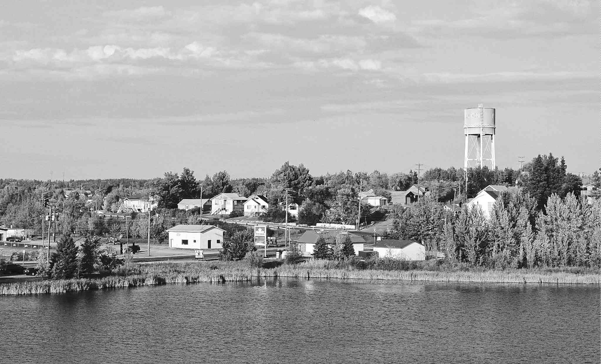 The city of Flin Flon (above) is an immediate neighbour to Creighton, Sask., a proposed site for nuclear-waste storage.