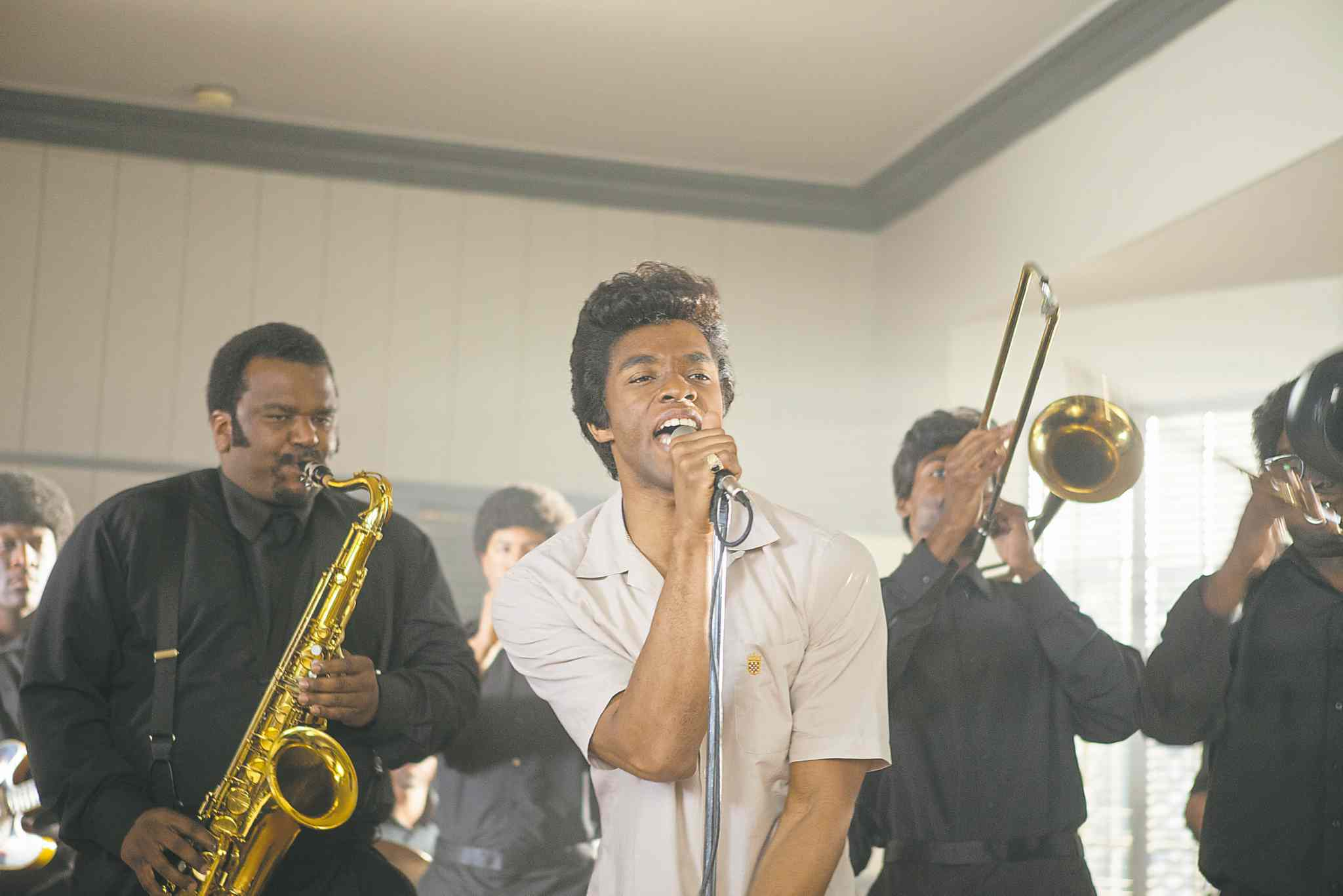 Chadwick Boseman stars as the Godfather of Soul in Get On Up, which opens in Winnipeg on Friday.