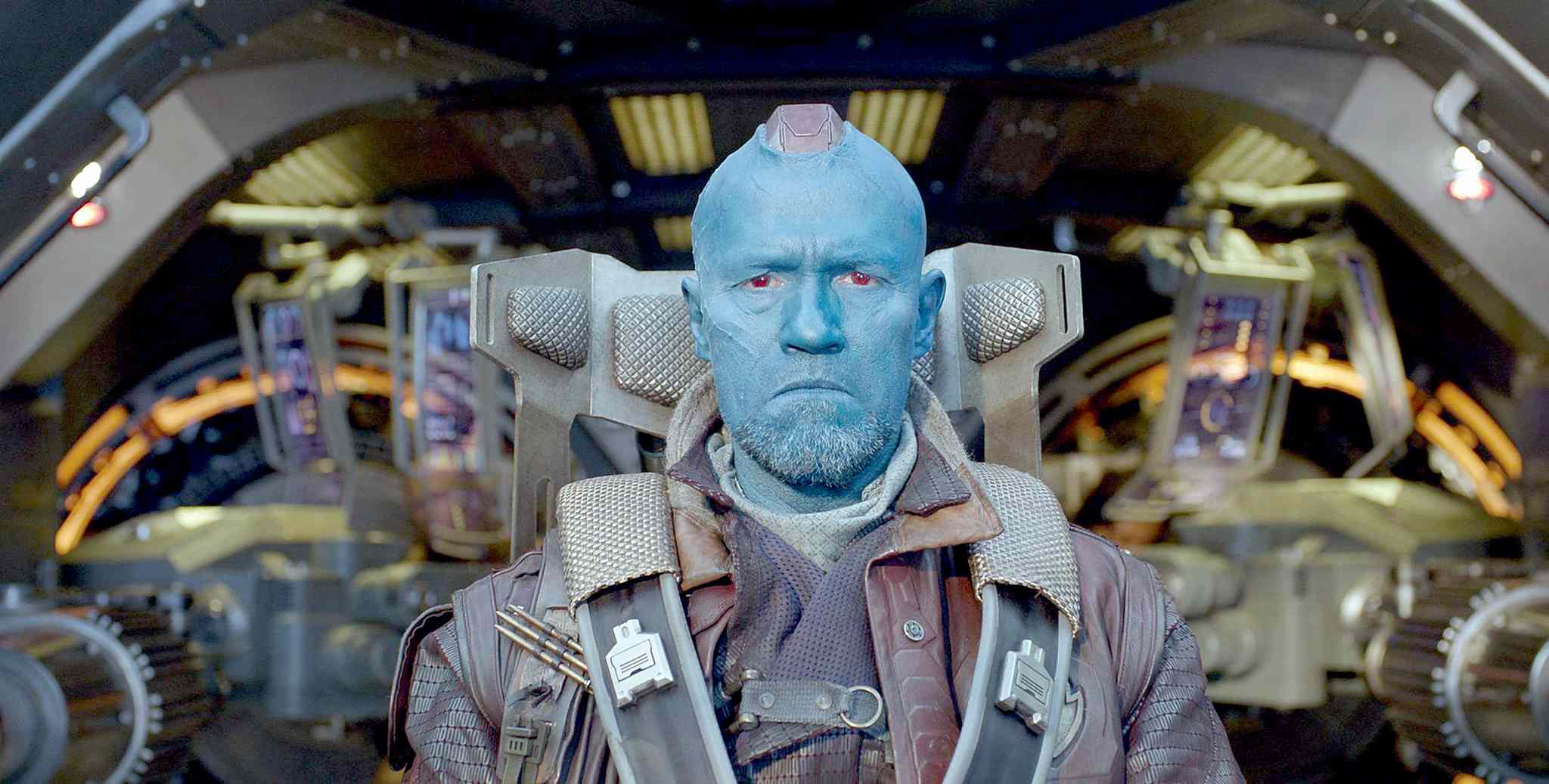 Michael Rooker as Yondu in Marvel's Guardians of the Galaxy. (Marvel/MCT)