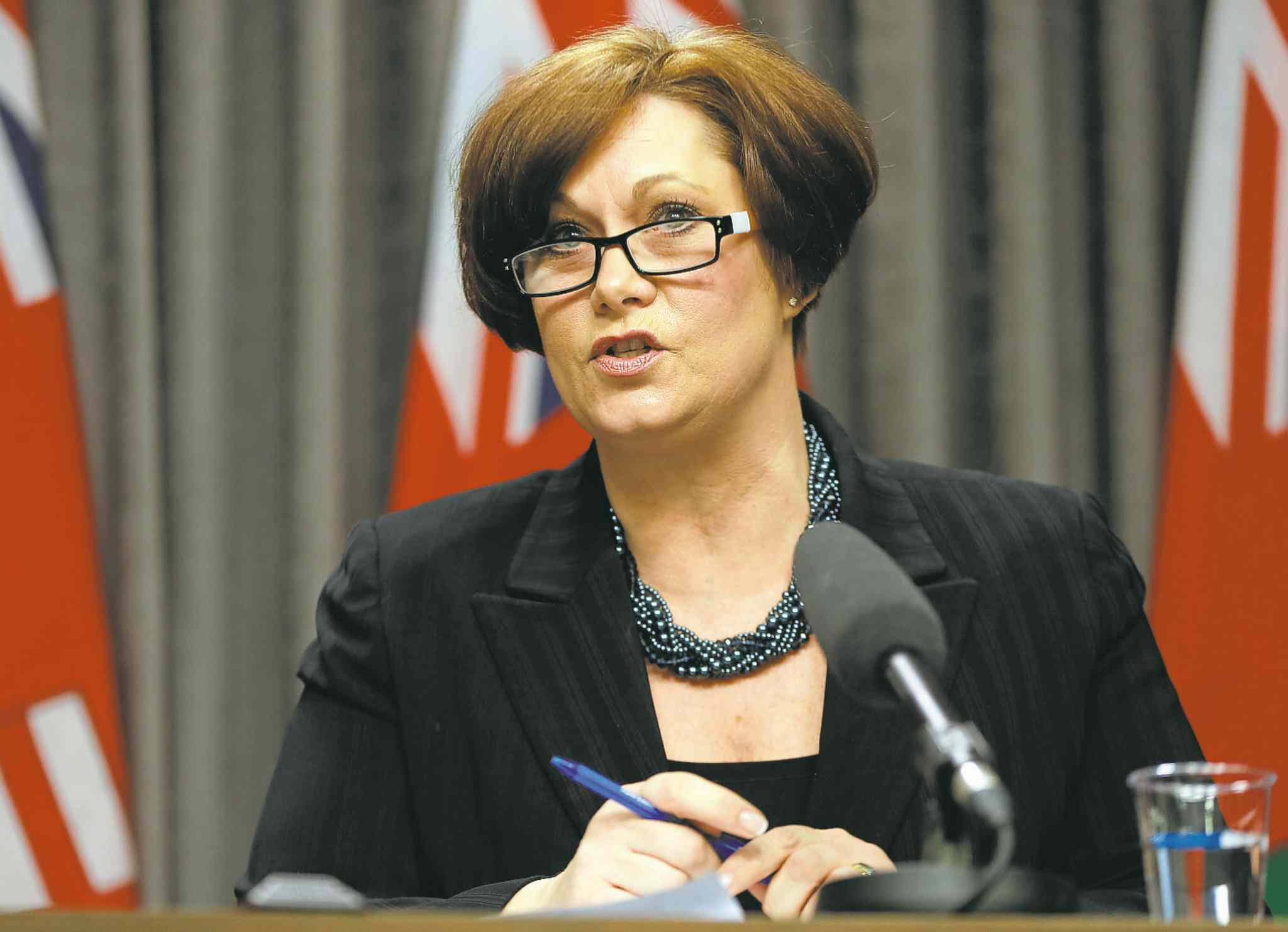 Jobs and Economy Minister Theresa Oswald
