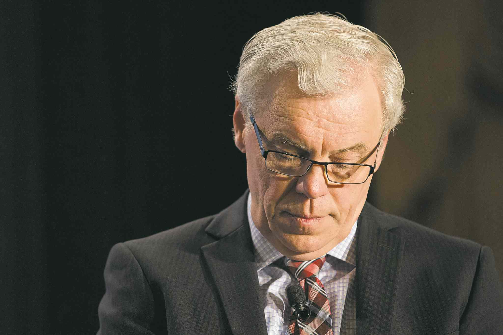 Manitoba's plan to get the budget in the black under Premier Greg Selinger was not received positively.
