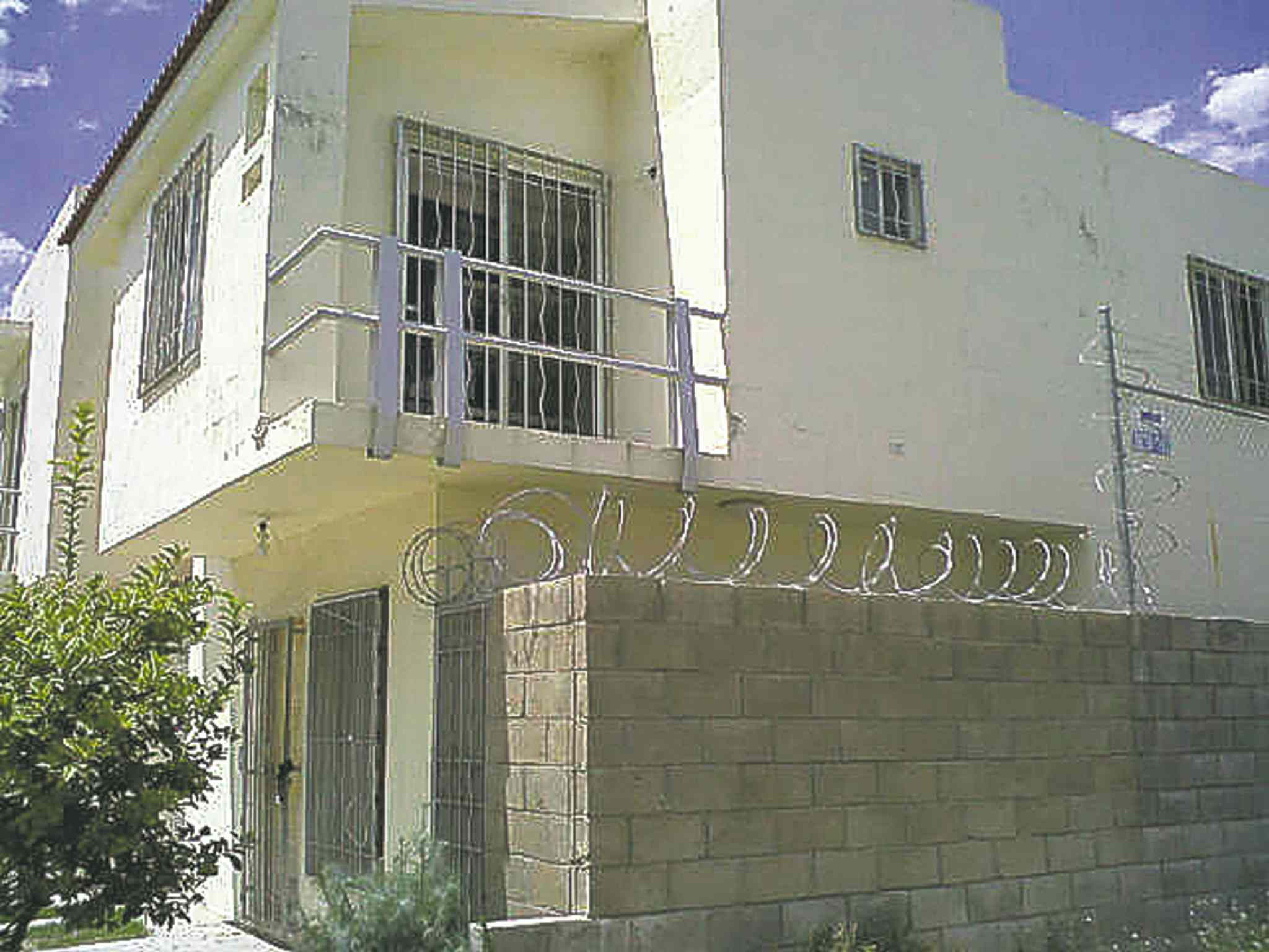 Dominic and Abby Maryk were found in this house in Mexico in 2012 after they were abducted by their father in 2008.