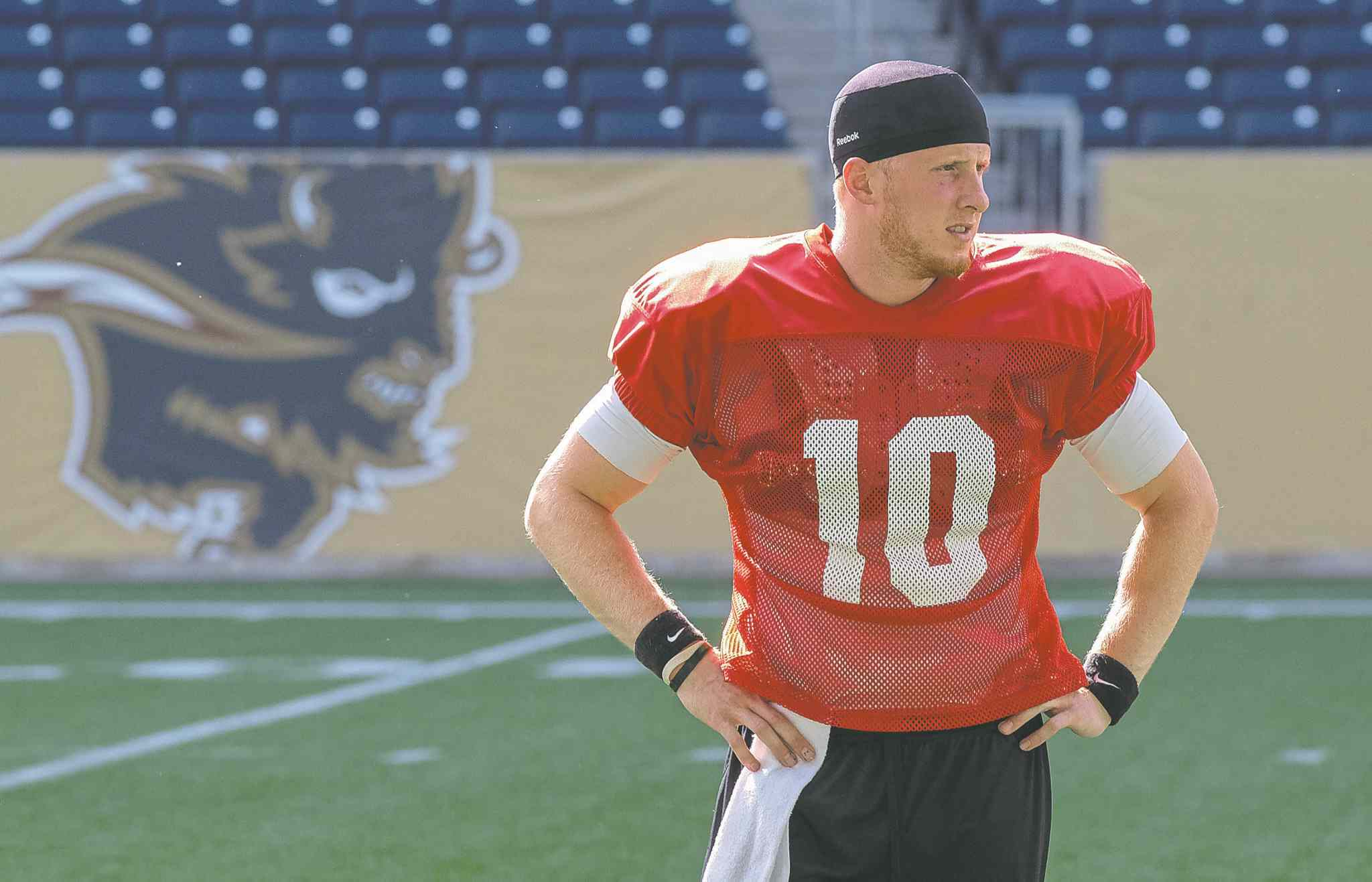 University of Manitoba Bisons quarterback Jordan Yantz lit up the CIS last season, throwing a nation-high 25 touchdown passes against just six interceptions.