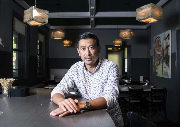 Cho Venevongsa, the chef behind three Wasabi restaurants in Winnipeg, is set to launch a ramen shop on Pembina Highway. (Mike Sudoma / Winnipeg Free Press)