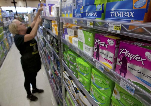 Scotland's new bill calls for no-cost feminine products. (Rich Pedroncelli / The Associated Press files)