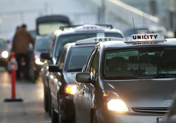 Unlike planes and buses, taxis don't demand prepayment. (Wayne Glowacki / Free Press files)</p>