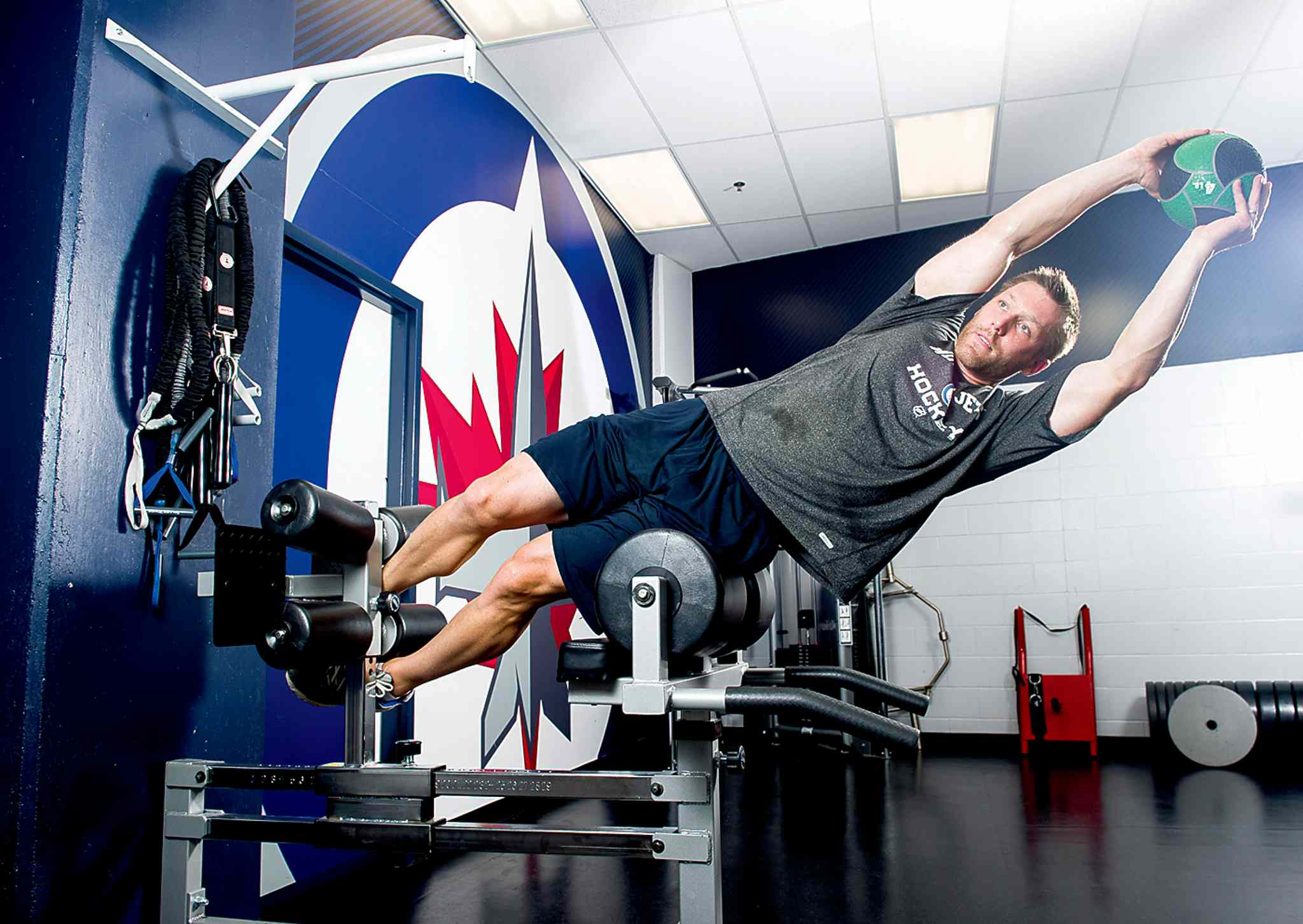 Dr. Craig Slaunwhite was hired earlier this month as the Winnipeg Jets director of fitness.