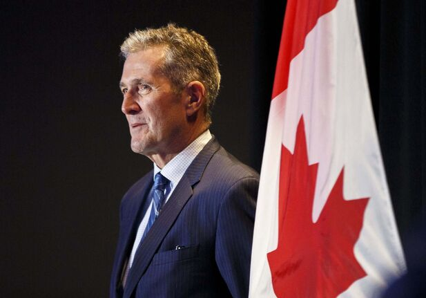 MIKE DEAL / WINNIPEG FREE PRESS files</p><p>Manitoba Premier Brian Pallister</p>