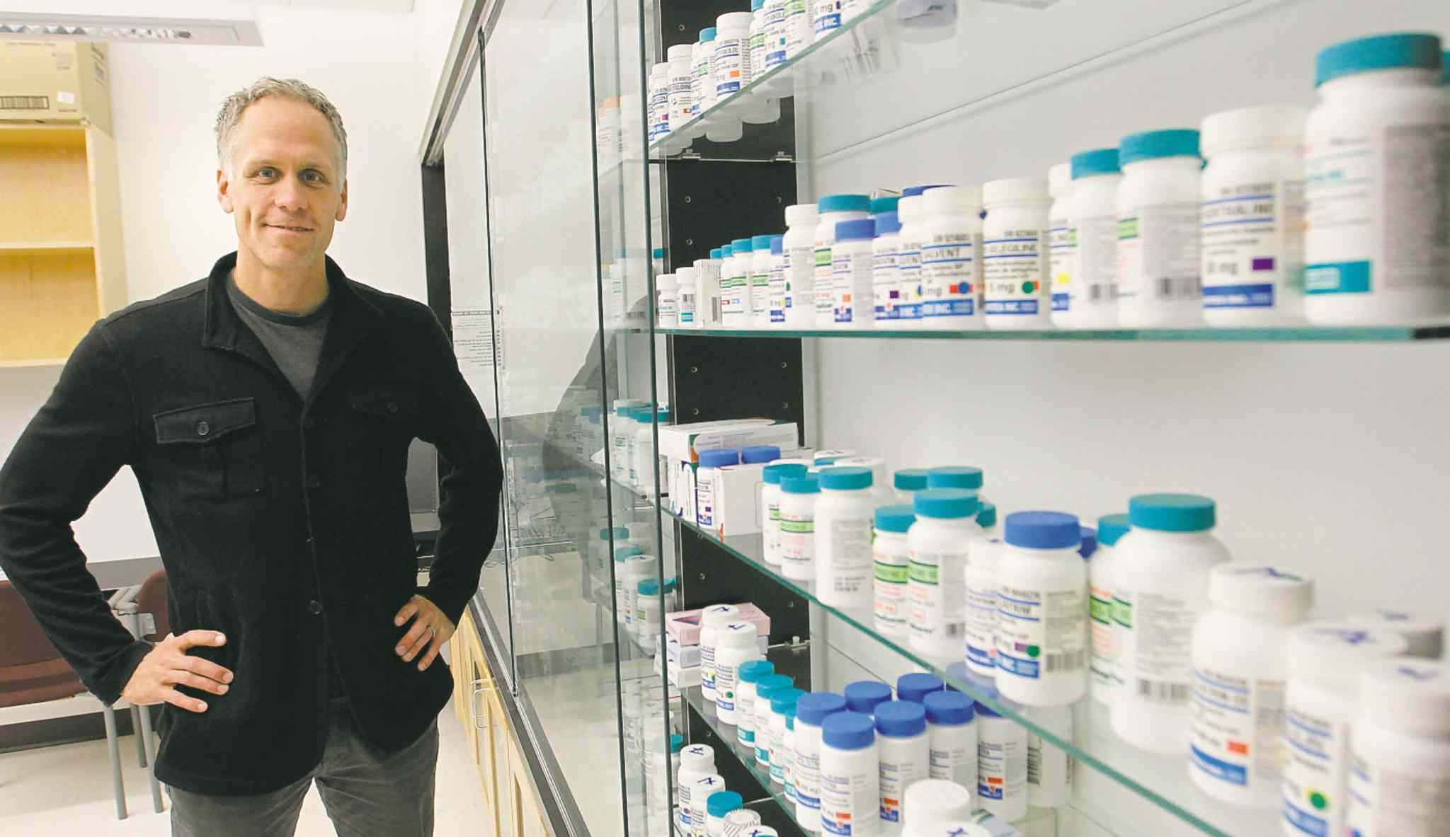 Dr. Jamie Falk is one of four extended-practice pharmacists in Manitoba. They prescribe and manage patient medication.