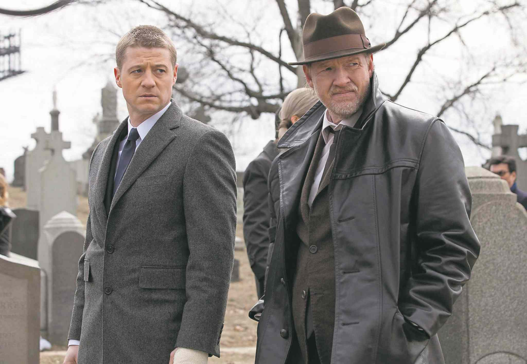 Jessica Migli/Fox Ben McKenzie, left, and Donal Logue star in the stylish Batman prequel Gotham, fall TV's most critically loved show.