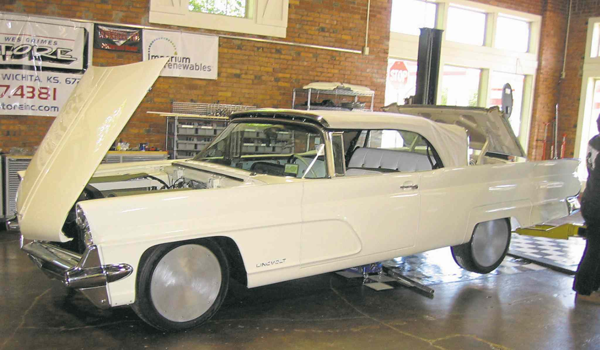 Young devotes many pages to his Lincvolt, a '59 Lincoln Continental he converted into an electric vehicle.