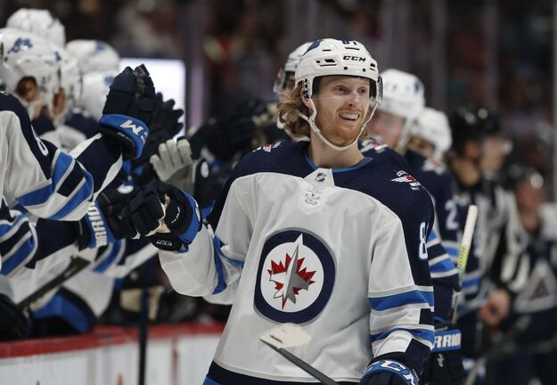 Why would the Jets consider moving Kyle Connor, who leads the Jets in points? (David Zalubowski / The Associated Press files)