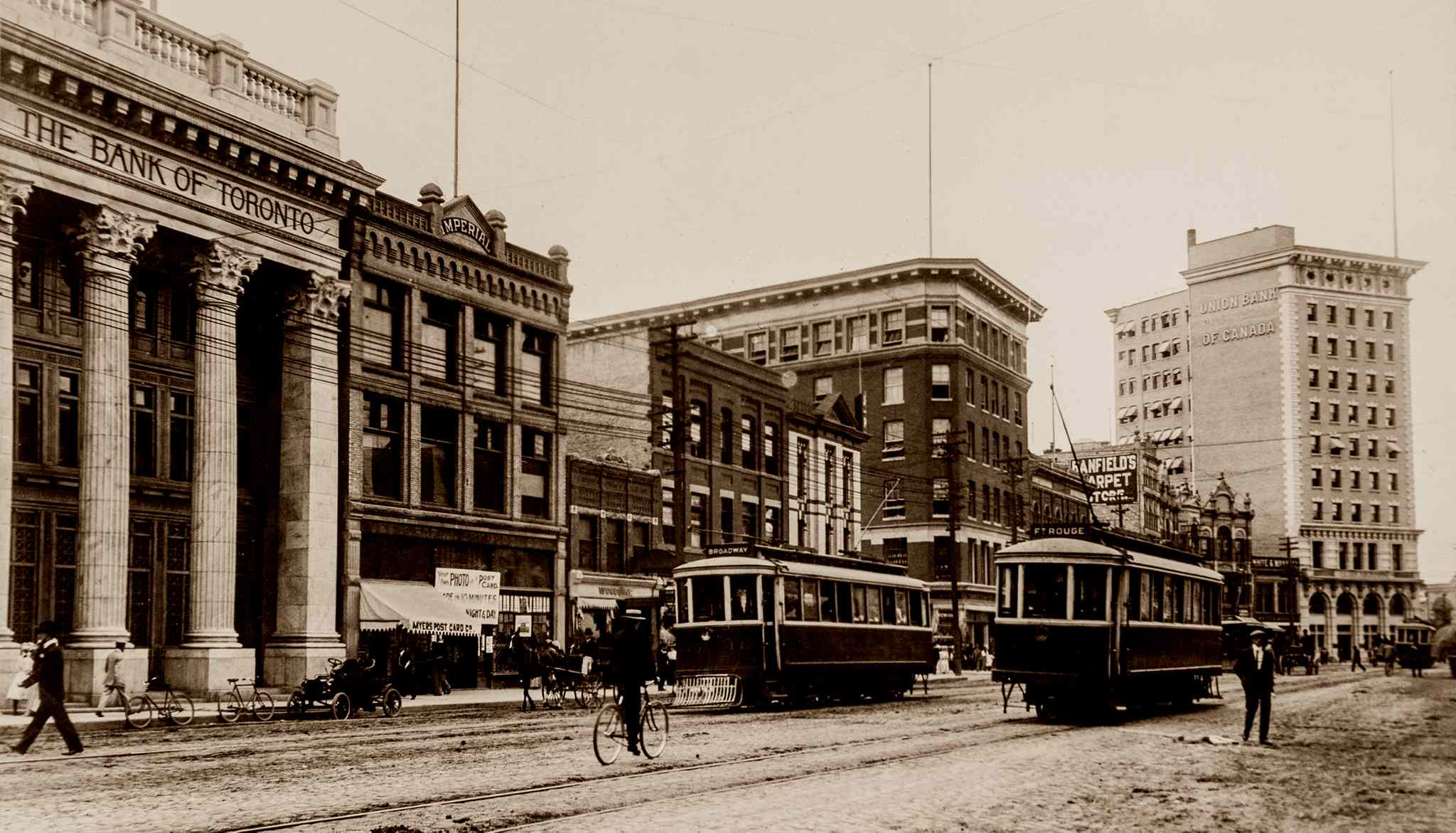 In the early 1900s, there was a belief Winnipeg could aspire to just about anything -- as Main Street's bankers' row and its monuments to wealth attested.