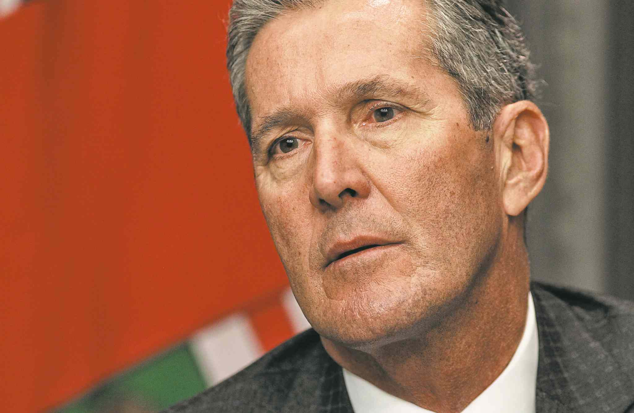 Mike Deal / Winnipeg Free Press files  Opposition Leader Brian Pallister says Hydro's priority should be Manitobans.