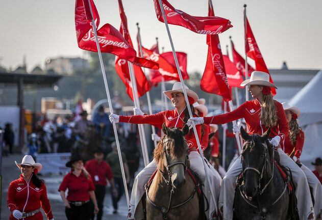 Jeff McIntosh / The Canadian Press</p><p>The Calgary Stampede returned after a one-year hiatus owing to the pandemic.</p></p>