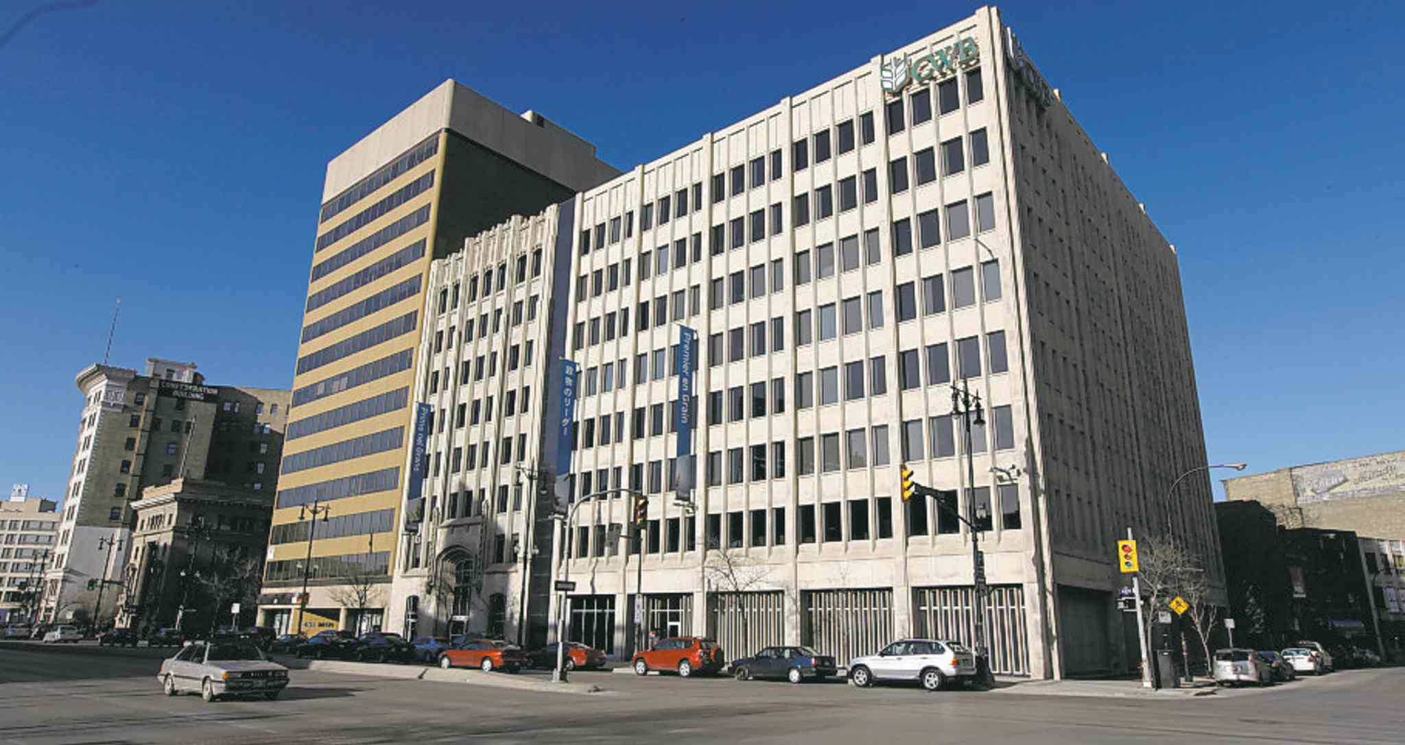 Could the Canadian Wheat Board  building on Main Street be the new home of Manitoba Liquor and Lotteries?
