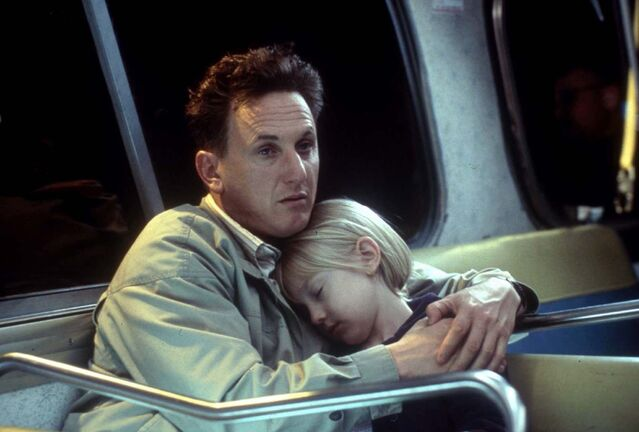 Lorey Sebastian / New Line Cinema</p><p>Sean Penn was nominated for best actor at the 2002 Academy Awards for his role as Sam Dawson in I Am Sam.</p>