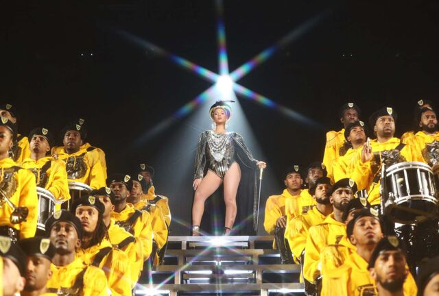 "Beyonce in a scene from her documentary ""Homecoming: A Film by Beyonce"" (Parkwood Entertainment / Netflix)</p>"