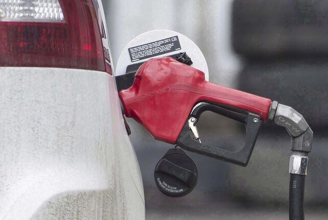 THE CANADIAN PRESS/Graham Hughes</p><p>An online firm says gasoline prices in Canada have spiked at the highest average price ever recorded thanks mainly to a 17-cent increase in the price per litre of regular fuel in Calgary. </p>