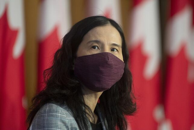 Chief Public Health Officer Theresa Tam said if the infection rate of COVID-19, fuelled by the highly contagious Delta variant, remains above one for several weeks we could expect to see a return to rapid epidemic growth.