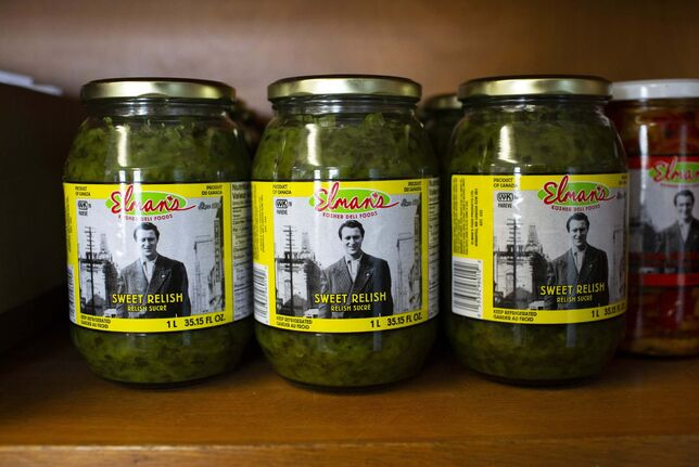 ANDREW RYAN / WINNIPEG FREE PRESS</p><p>Pickle products at Elman&rsquo;s Food Products.</p></p>
