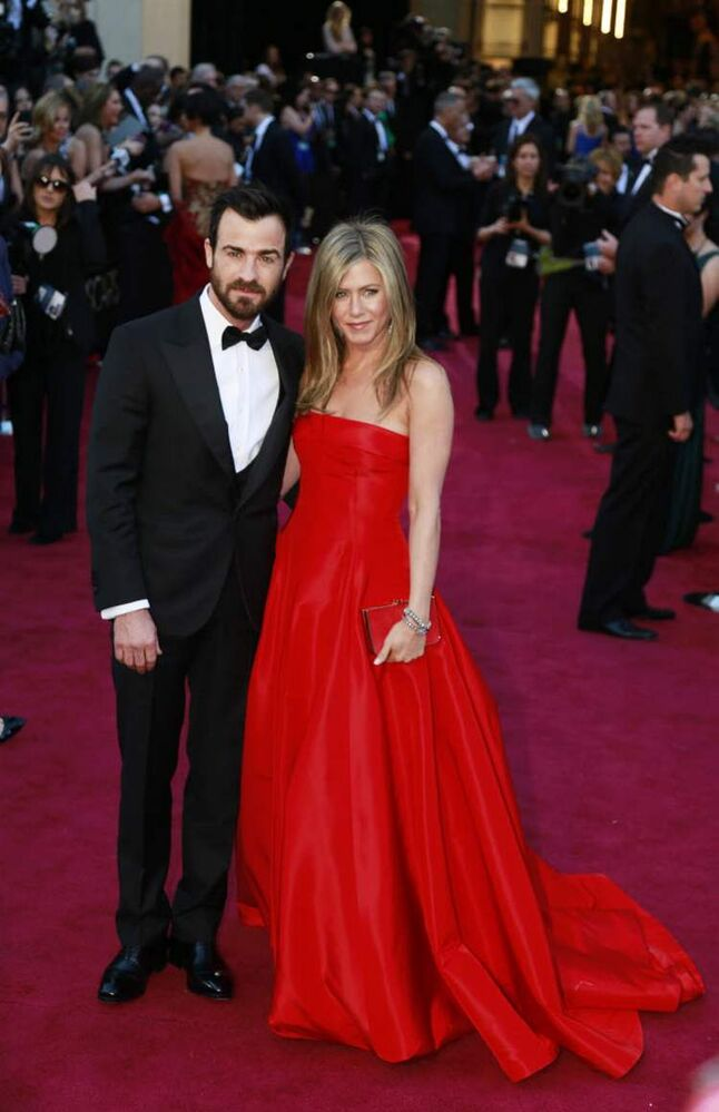 Jennifer Aniston and Justin Theroux  (Tribune Media MCT)