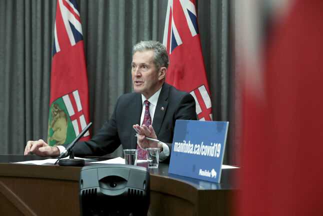 Asked Tuesday if he thought there would be an impact on Hydro's services, Premier Brian Pallister responded: