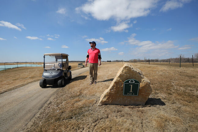 Dustin How, Superintendent of Southwood Golf Course, says their golf course is in better shape than ever. (Ruth Bonneville / Winnipeg Free Press files)
