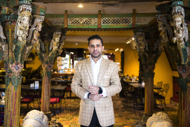 East India Company owner Sachit Mehra opened his doors to customers on Monday for the first time in over two months. (Mikaela MacKenzie / Winnipeg Free Press)