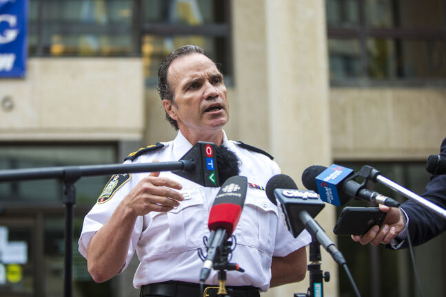 Winnipeg police Chief Danny Smyth says the expense of the body cameras isn't an excuse to not use them. (Mikaela MacKenzie / Winnipeg Free Press)