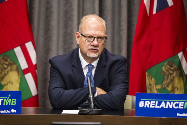 Education minister Kelvin Goertzen says he supports vaccinations, but believes it is a personal choice. (Mikaela MacKenzie / Winnipeg Free Press files)