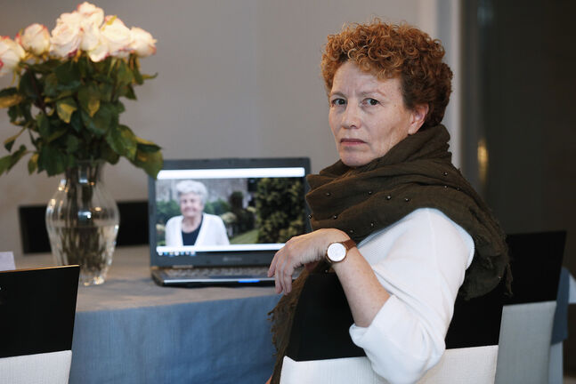 Anne McGarry was forced to miss her mother's funeral after the province introduced new restrictions on Monday. (John Woods / Winnipeg Free Press)