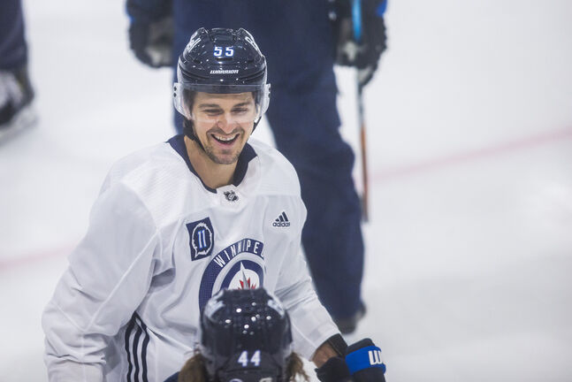 The playoffs proved the Jets are lost without their No. 1 centre, Mark Scheifele (Mikaela MacKenzie / Winnipeg Free Press)