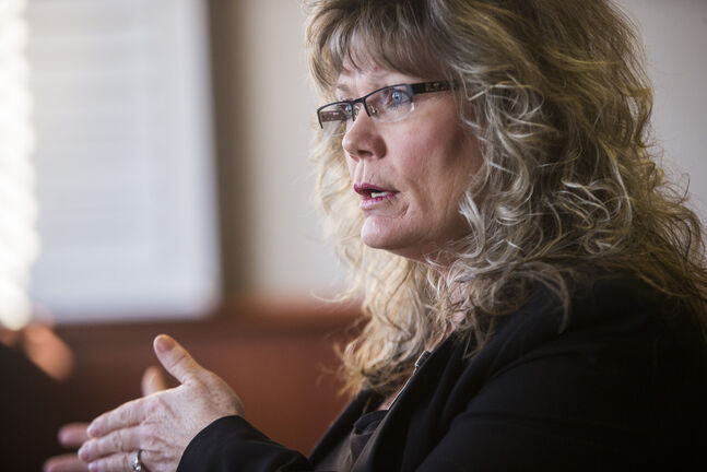 Shelly Glover is disappointed in how the party has handled ballot distribution and that it rushed to hold the leadership race in a matter of weeks. (Mikaela MacKenzie / Winnipeg Free Press)