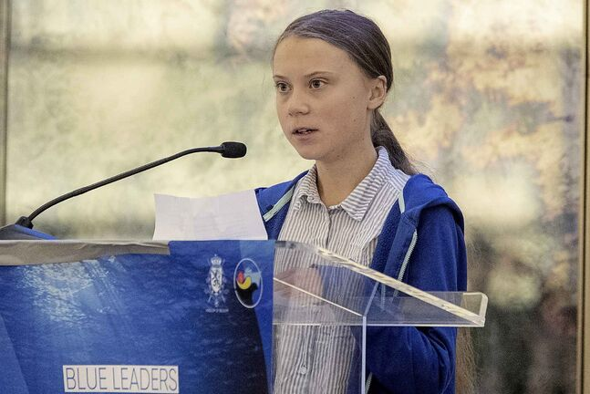 16-year-old Swedish activist Greta Thunberg has become the face of the youth climate justice movement.